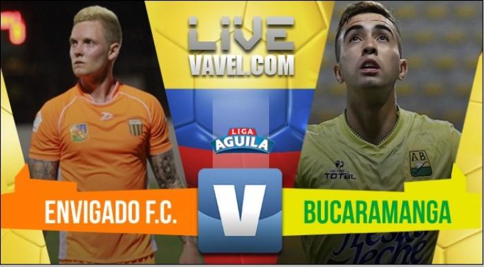 Aunque Envigado jugó mejor, terminó empatando 0-0 con Atlético Bucaramanga