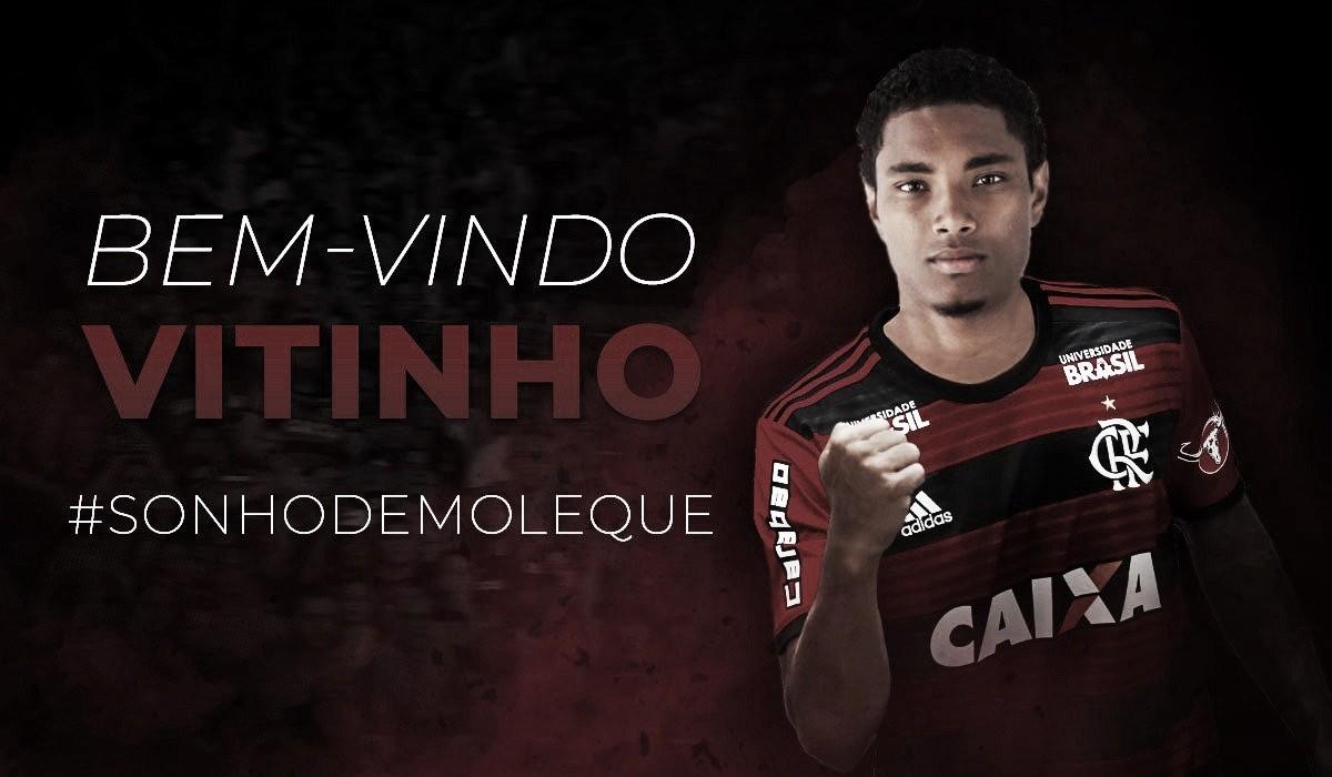 Com Vitinho, Flamengo chega ao quinto nome de peso nas últimas quatro janelas de meio do ano