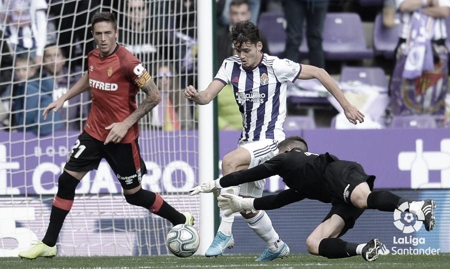 Resumen del RCD Mallorca - Real Valladolid (0-1)