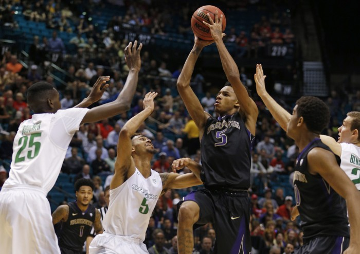 Pac-12 Tournament: Oregon Ducks Come Back And Outlast Washington Huskies