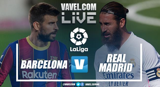 Resumen Barcelona 1-3 Real Madrid en LaLiga 2020