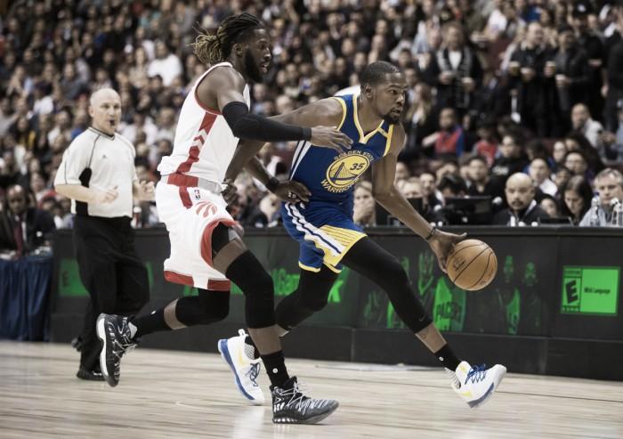 Toronto arruinó el debut de Durant