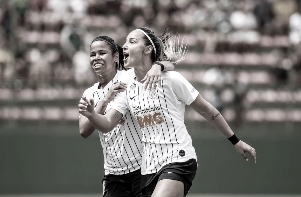 Corinthians vence Palmeiras na estreia do Brasileirão Feminino