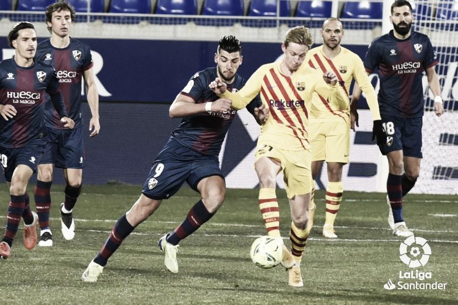 Previa FC Barcelona - SD Huesca: de perdidos al río