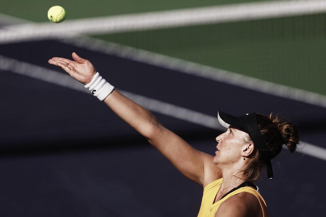 Bia Haddad derruba Pliskova em Indian Wells e conquista a maior vitória da carreira