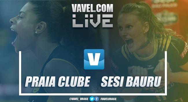 Resultado Dentil/Praia Clube x Sesi Bauru pela semifinal da Copa Brasil (3-2)