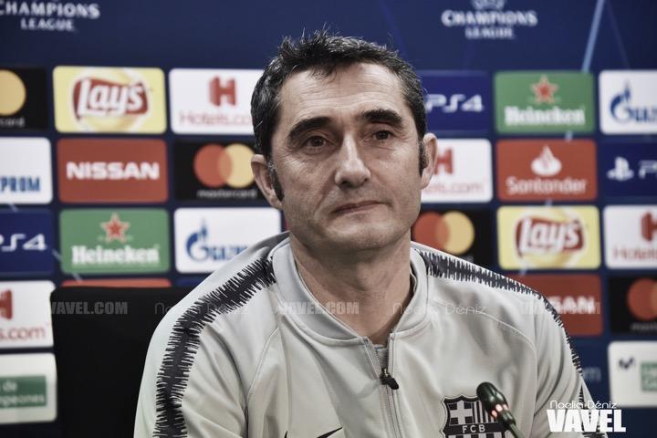 """Ernesto Valverde: """"Era importante empezar esta semana de tres partidos ganando"""""""