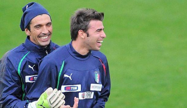 Italia, partono titolari Buffon e Brazagli