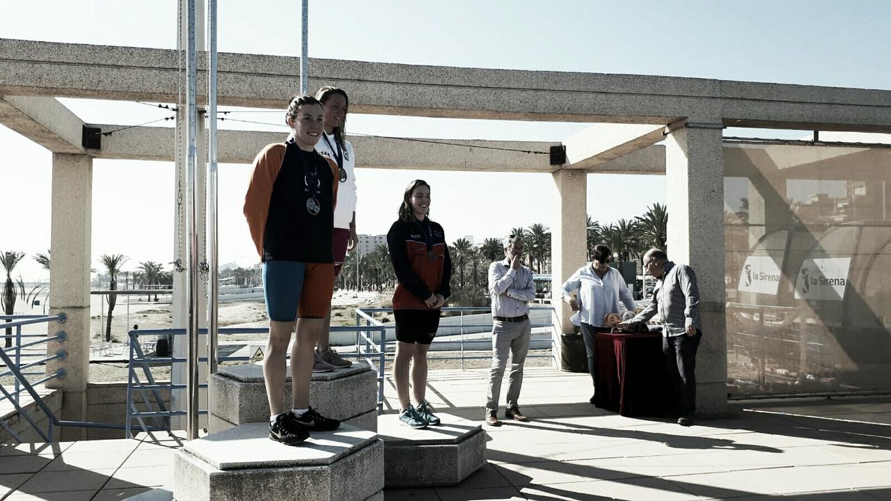 Mireia Belmonte y Albert Escrits ganan los 5.000 en el X Campeonato de España de Larga Distancia