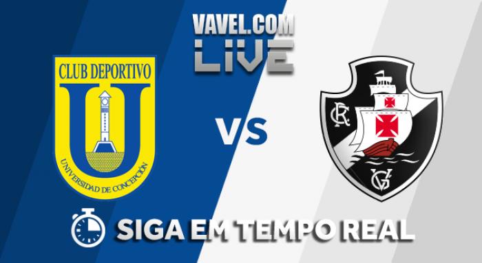 Resultado Universidad Concepción x Vasco pela Copa Libertadores 2018 (0-4)