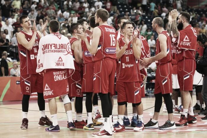 Serbia ganó y está en semis