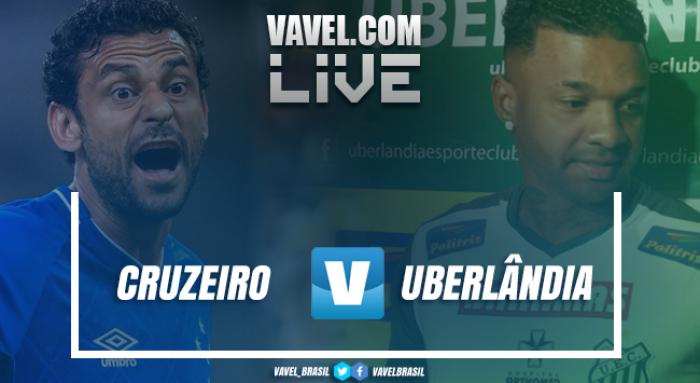 Resultado Cruzeiro x Uberlândia online pelo Campeonato Mineiro (4-0)