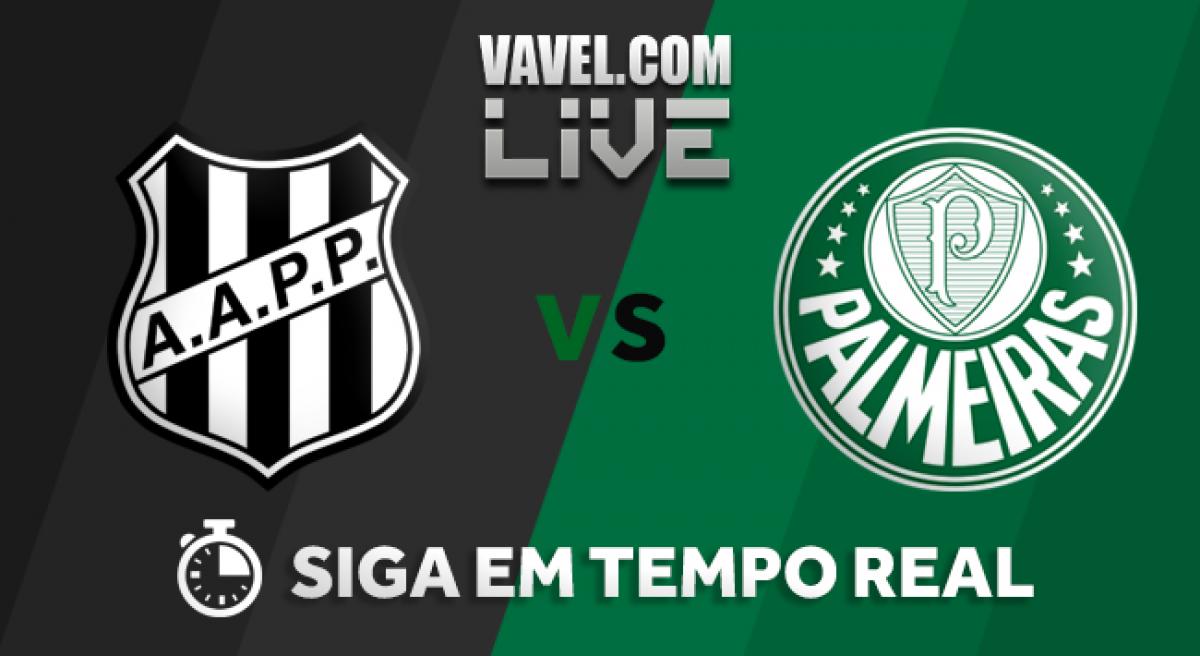 Palmeiras não sai do 0 a 0 com a Ponte em Campinas