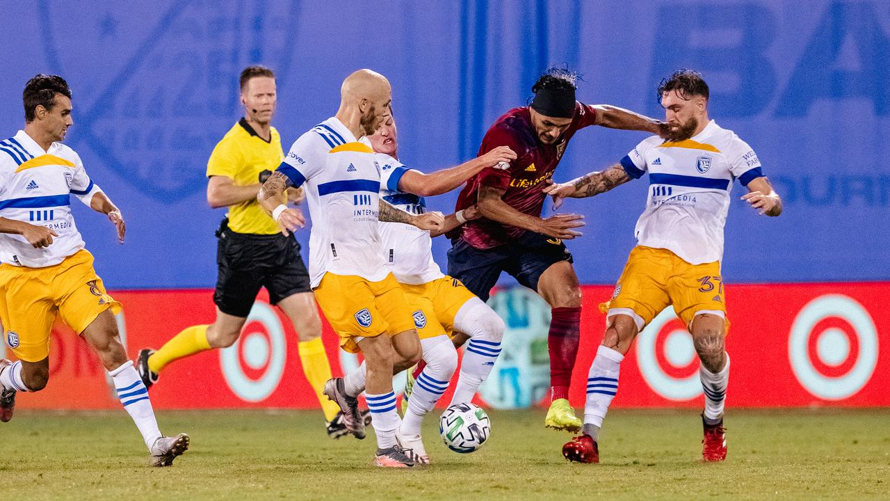 San Jose Dispatch Real Salt Lake in a crazy match
