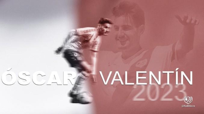 Óscar Valentín, primer fichaje del Rayo Vallecano