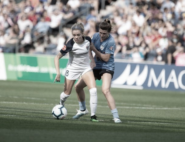 Chicago Red Stars Defeat North Carolina Courage 2-1