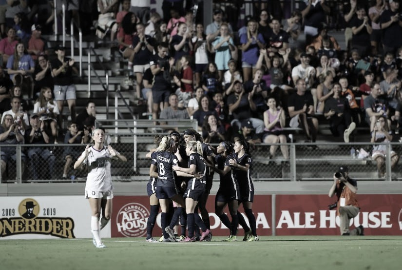 North Carolina Courage Defeat Orlando Pride 6-1