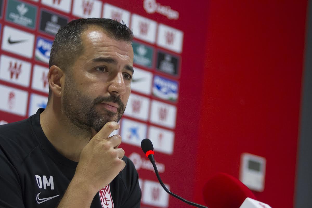 """Diego Martínez: """"Me gustaría que la afición no viniera a vernos jugar contra el Barca, sino a vernos competir"""""""