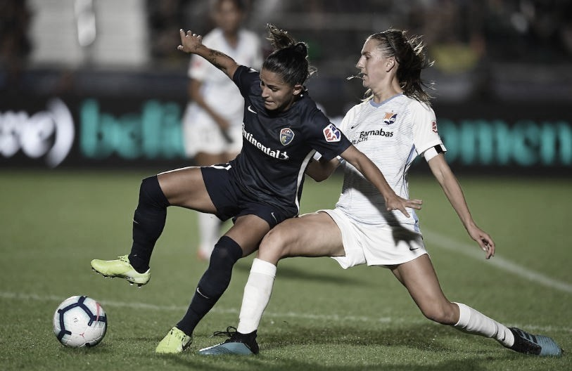 North Carolina Courage Defeat Sky Blue FC 3-2