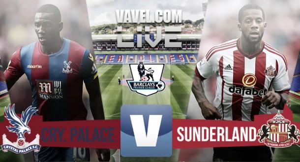 Resultado Crystal Palace - Sunderland (0-1)