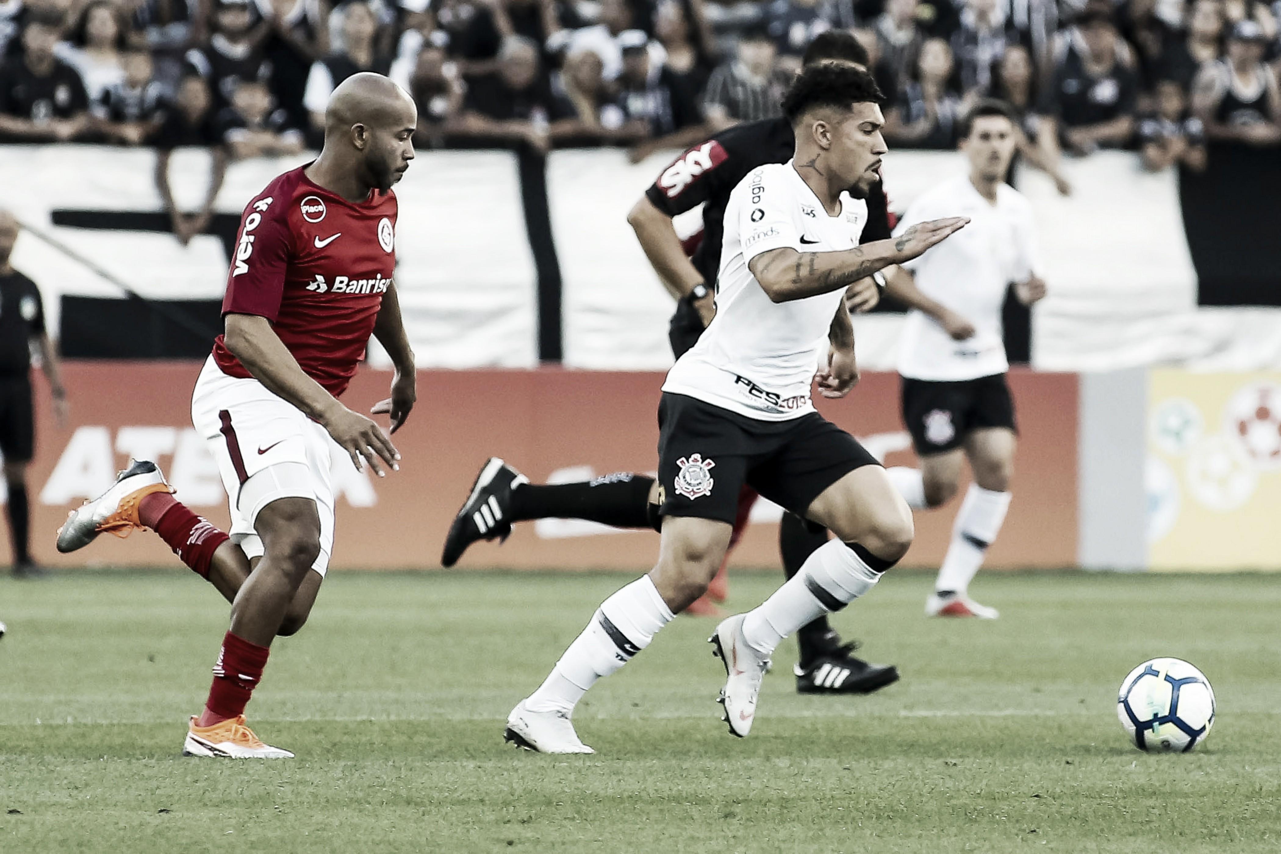 Em jogo truncado, Corinthians consegue empate contra o Internacional pelo Brasileiro
