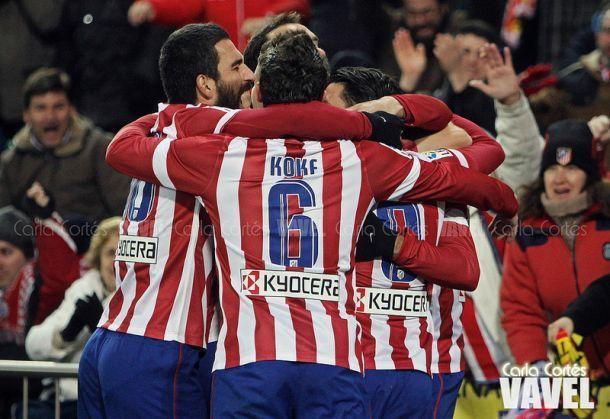 Coppa del Re, passano Atlético Madrid e Racing Santander