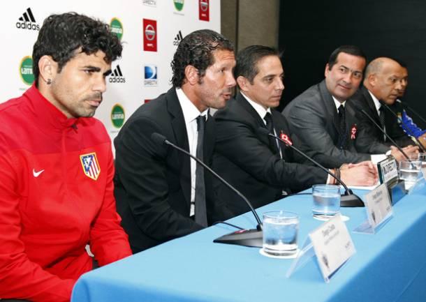 """Simeone: """"Tratamos de hacer un fútbol que nos acerque a nuestro mejor nivel"""""""