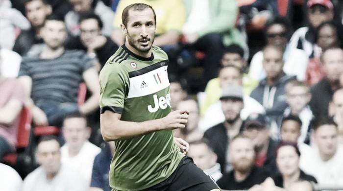 Juventus, le analisi di Chiellini e Cuadrado dopo la sconfitta col Tottenham
