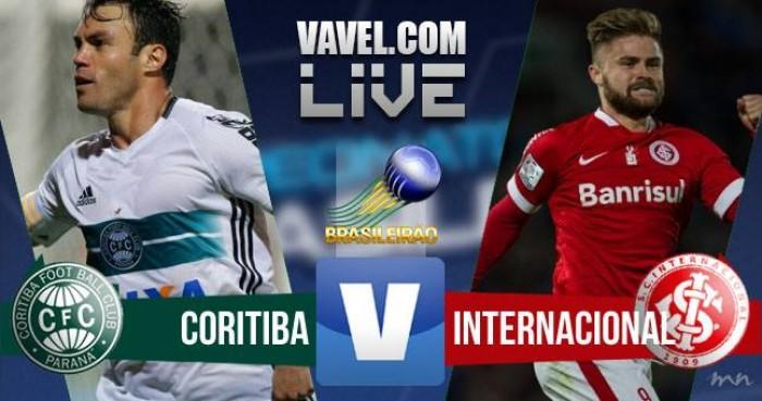 Coritiba e Inter ficam no empate no Brasileirão (1-1)