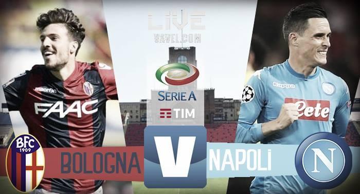 Terminata Bologna - Napoli, LIVE Serie A 2017/18 (0-3): Decidono Callejon, Mertens e Zielinski!