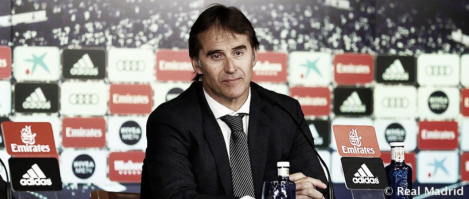 """Mesmo com empate, Lopetegui elogia atuação do Real Madrid: """"Fomos superiores"""""""