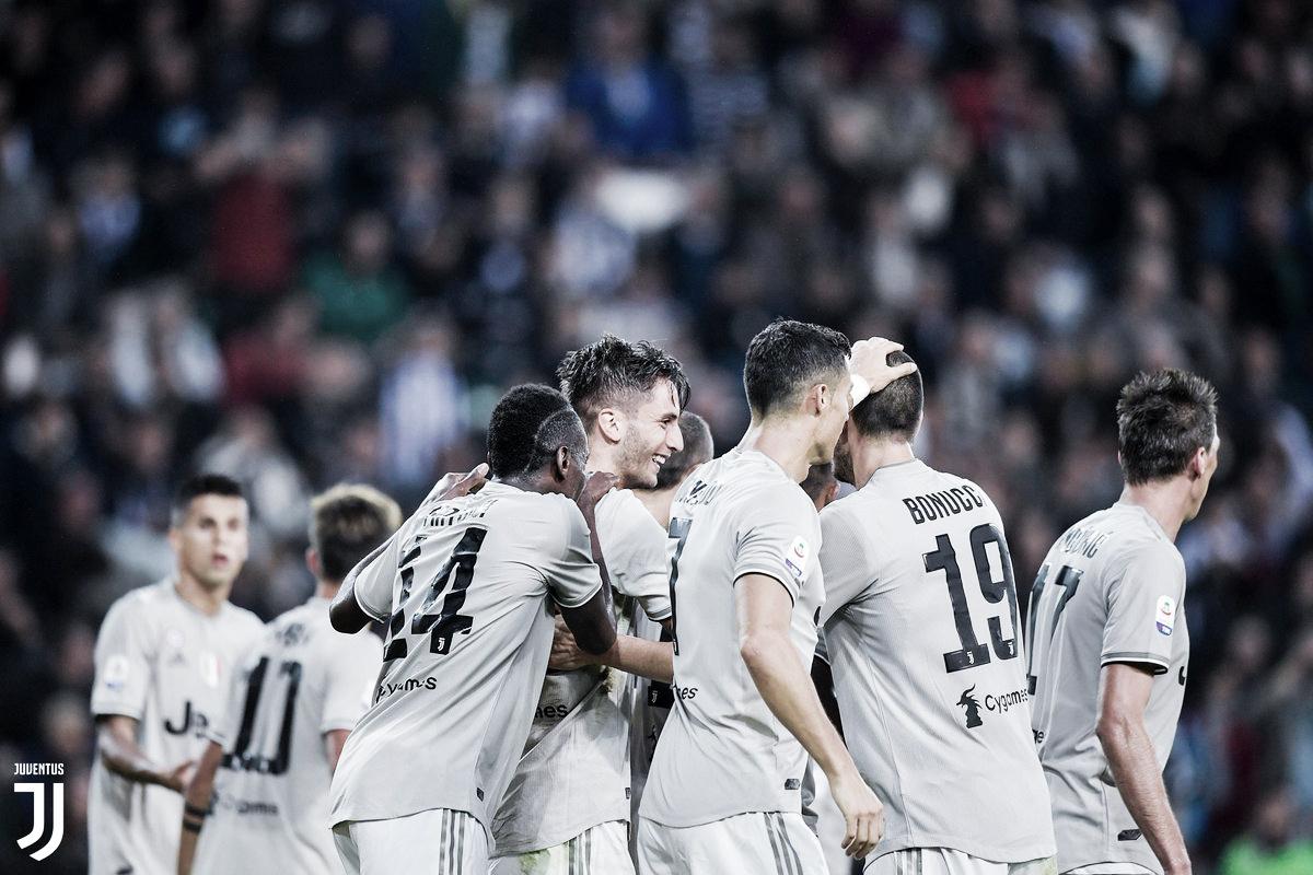Com gol de CR7 Juventus bate Udinese fora de casa pelo Campeonato Italiano
