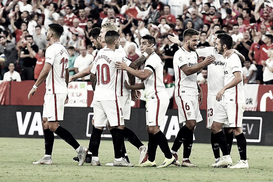 Sevilla derrota Celta e assume liderança do Campeonato Espanhol