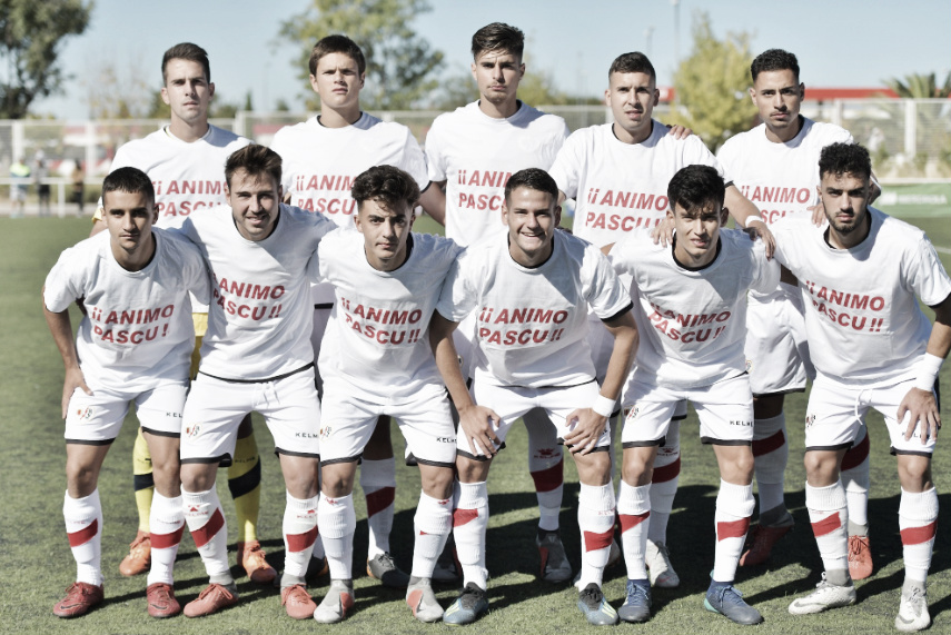 El filial va a por otra victoria ante el Atlético de Pinto