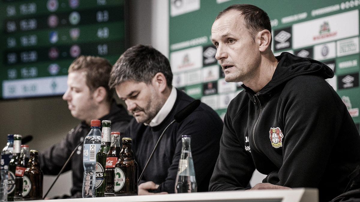 """Heiko Herrlich louva vitória doBayer Leverkusen pela Bundesliga: """"Honrado por ganhar"""""""