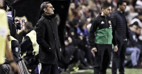 """Após triunfo, Valverde enaltece desempenho do Barcelona: """"Conseguimos os três pontos"""""""
