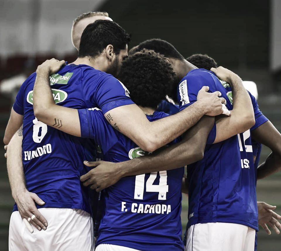 Em jogo de cinco sets, Cruzeiro supera Maringá e conquista quarta vitória seguida