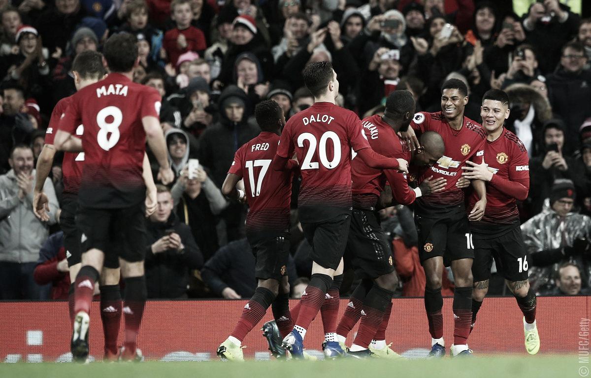 Com tranquilidade, Manchester United derrota Fulham e volta a vencer em casa