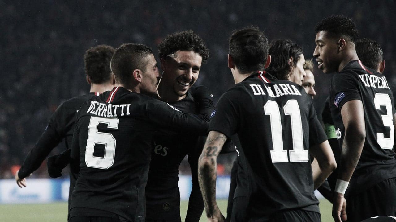 PSG goleia Estrela Vermelha e se classifica em primeiro na Champions League