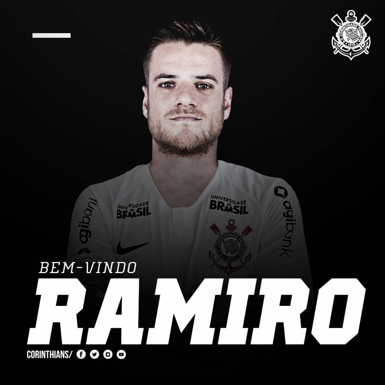 Corinthians anuncia contratação de Ramiro, ex-Grêmio, por quatro temporadas