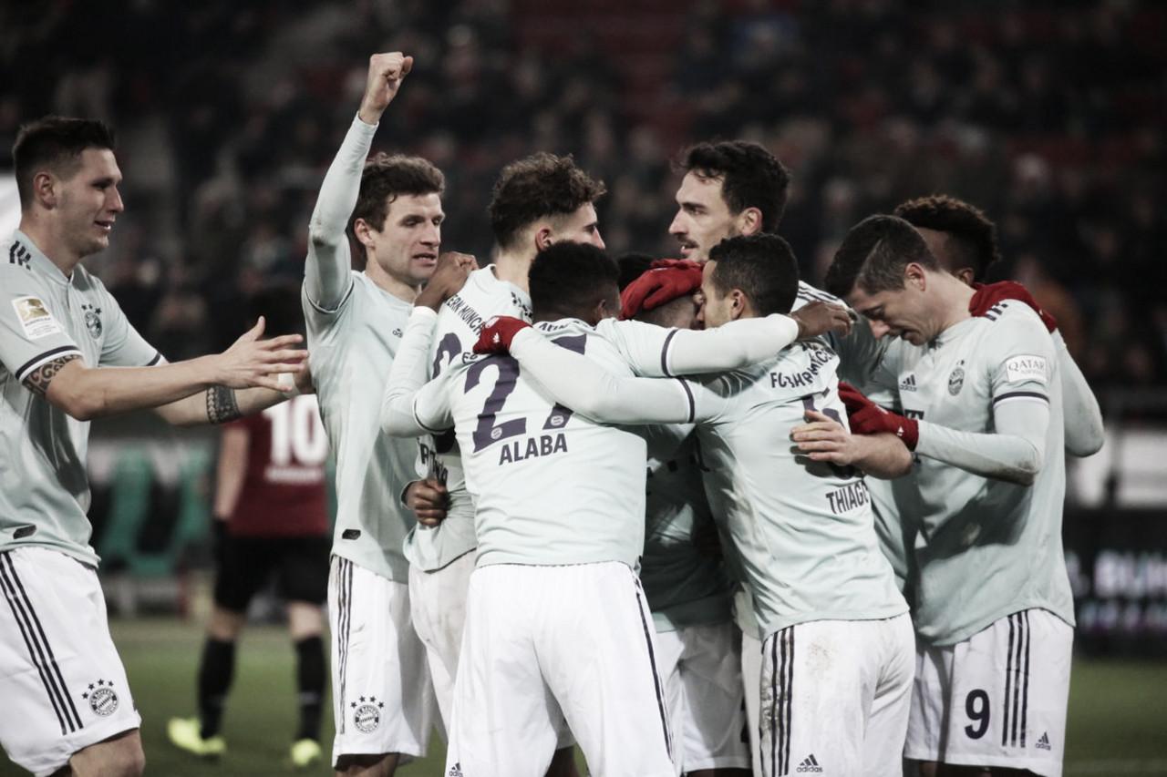 Sem piedade, Bayern Munique massacra oHannover fora de casa pela Bundesliga