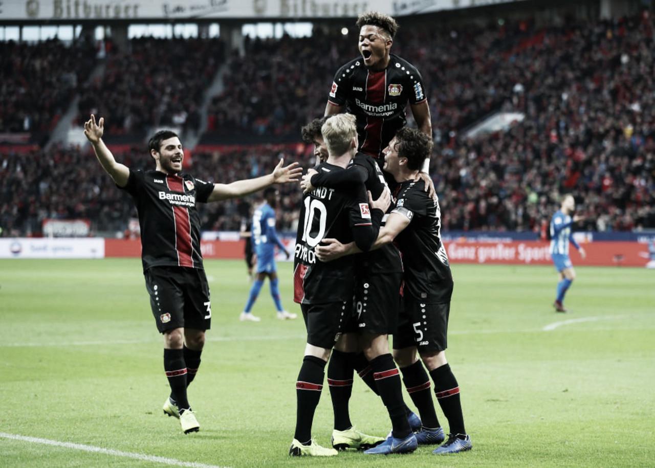 Kai Havertz brilha eBayer Leverkusen vence Hertha Berlin pela Bundesliga