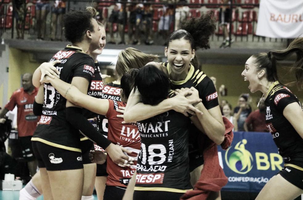 Em tie-break eletrizante, Sesi-Bauru vence Osasco-Audax pela Superliga