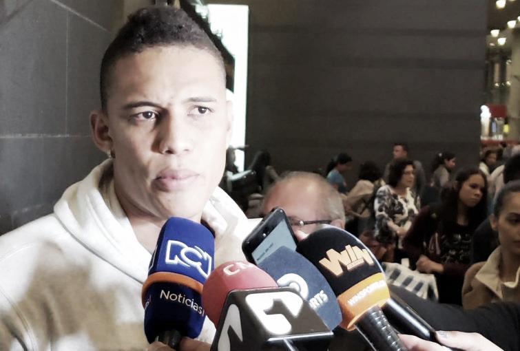 """Brayan Perea: """"Nosotros vamos con la mentalidad de traer los 3 puntos"""""""