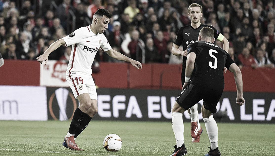 Sevilla cede empate para Slavia Praga na Europa League