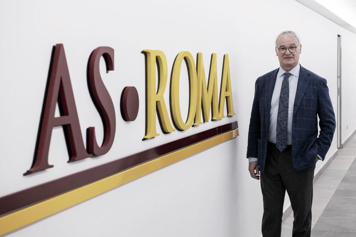 Roma oficializa retorno do técnico Claudio Ranieri até o fim da temporada