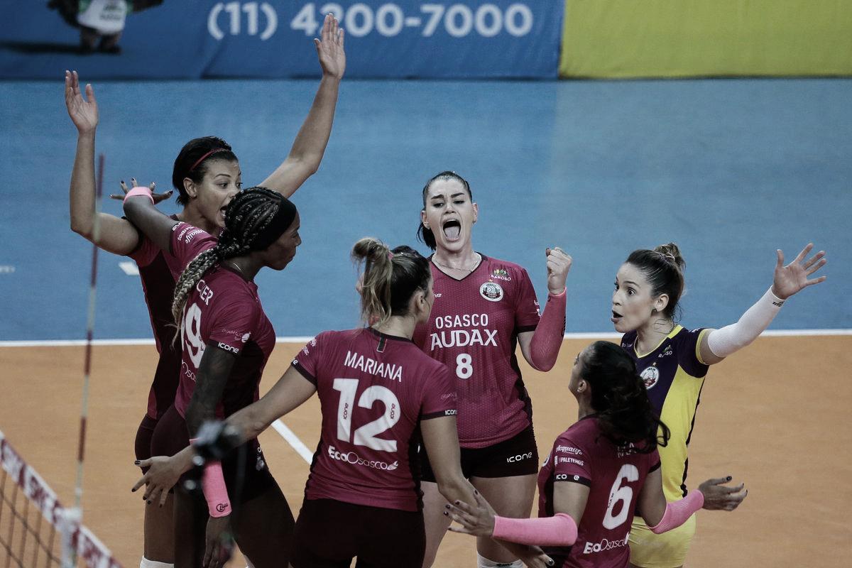 Com show de Walewska, Osasco/Audax derrota Curitiba Vôlei pela Superliga Feminina