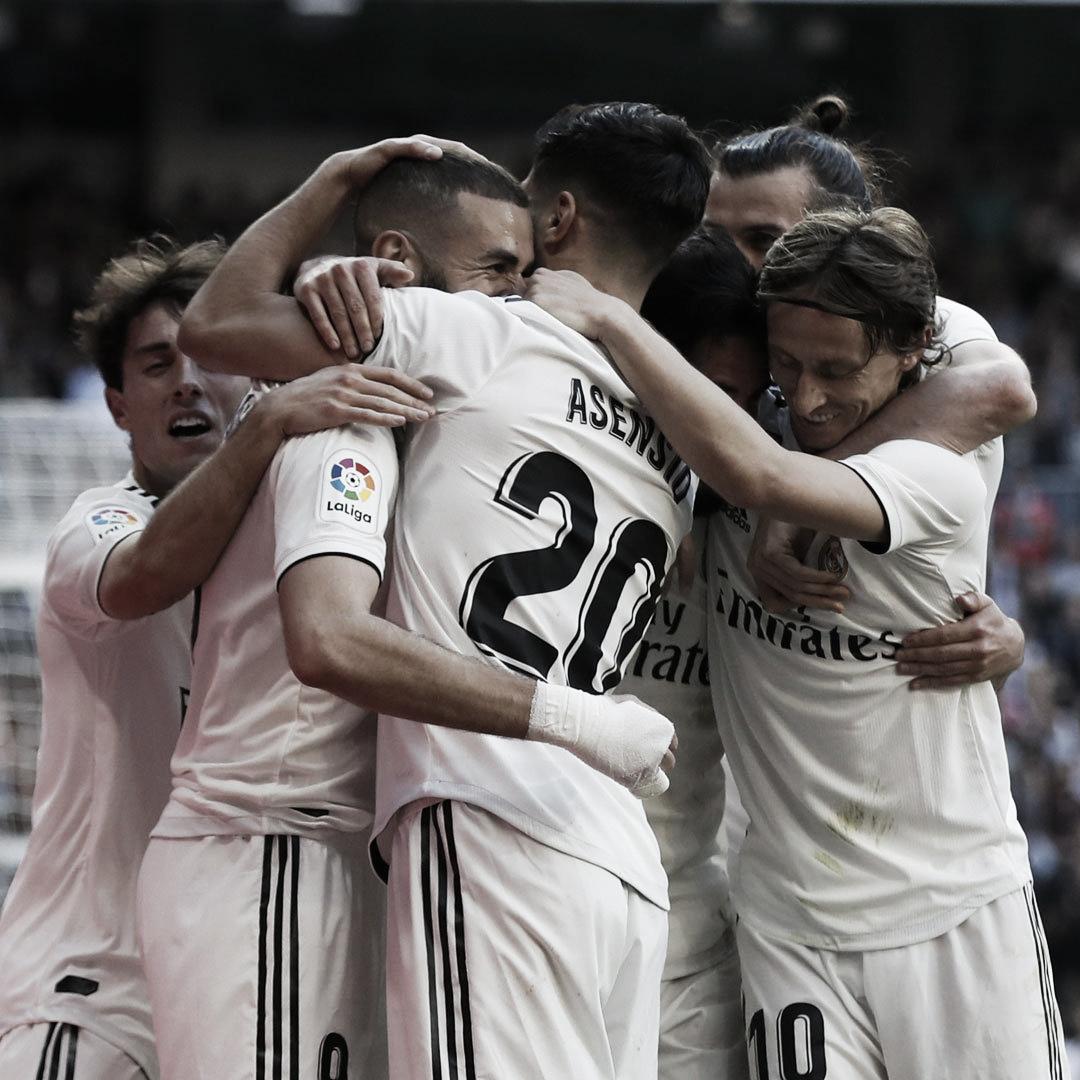 Com o retorno de Isco e Marcelo, Real Madrid vence Celta de Vigo pelo Espanhol