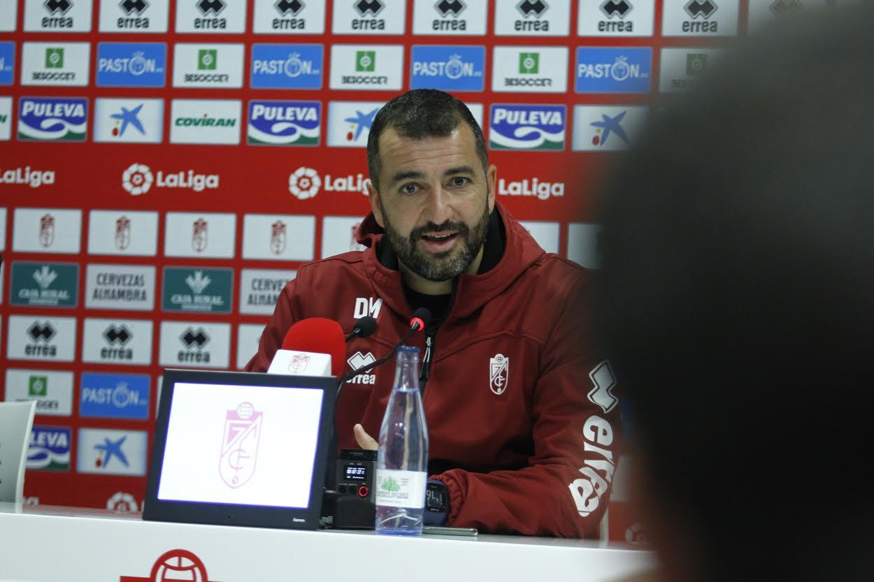 """Diego Martínez: """"Creo mucho en mi equipo y en su manera de jugar"""""""