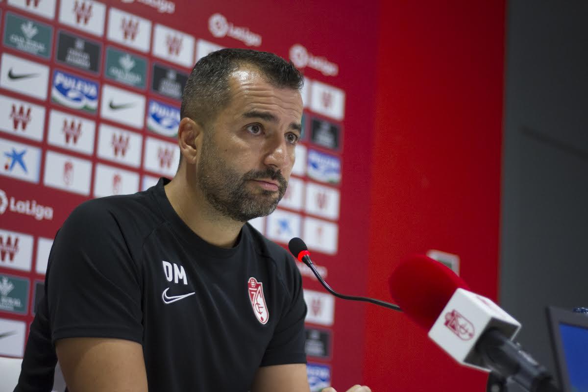 """Diego Martínez: """"Si al Celta le dejas jugar y se asocian bien, tiene mucho peligro"""""""